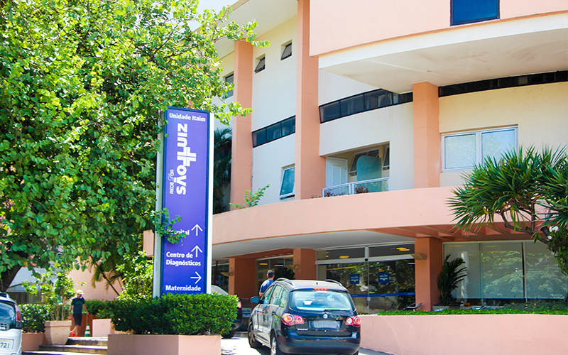 Hospital São Luiz no Bairro do Itaim Bibi