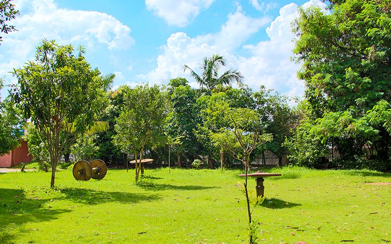 Área verde do Bairro Lapa